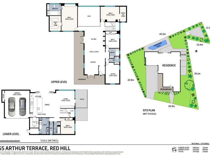 65 Arthur Terrace, Red Hill, Qld 4059 - floorplan