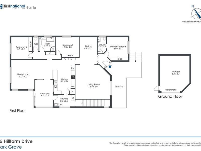 25 Hillfarm Drive, Park Grove, Tas 7320 - floorplan