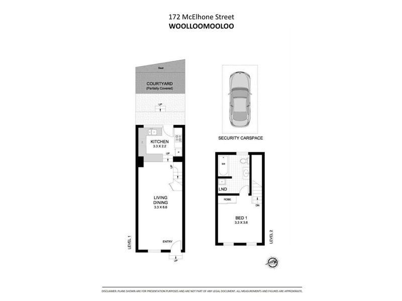 172 McElhone Street, Woolloomooloo, NSW 2011 - floorplan