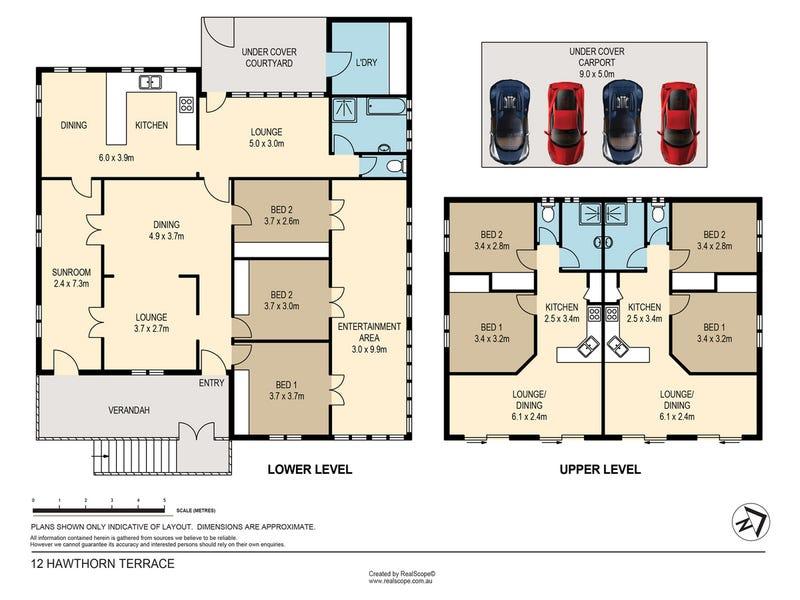 12 Hawthorn Terrace, Red Hill, Qld 4059 - floorplan