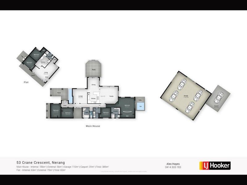 53 Crane Crescent, Nerang, Qld 4211 - floorplan