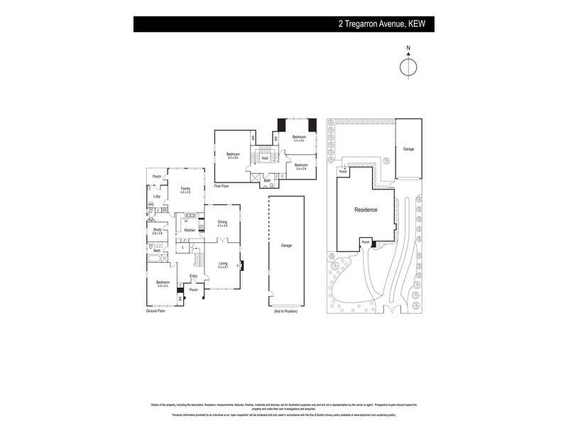 2 Tregarron Avenue, Kew, Vic 3101 - floorplan