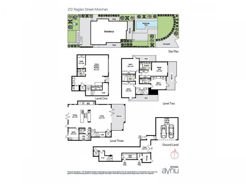 212 Raglan Street, Mosman, NSW 2088 - floorplan