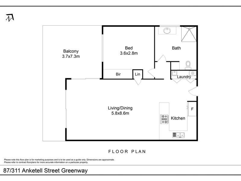 87/311 Anketell Street, Greenway, ACT 2900 - floorplan