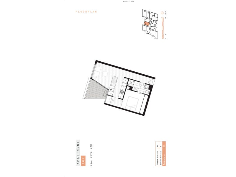 207/1031 Heidelberg Road, Ivanhoe, Vic 3079 - floorplan