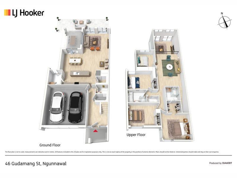 46 Gudamang Street, Ngunnawal, ACT 2913 - floorplan