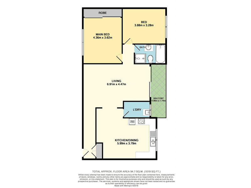 8/45-47 Calliope Street, Guildford, NSW 2161 - floorplan