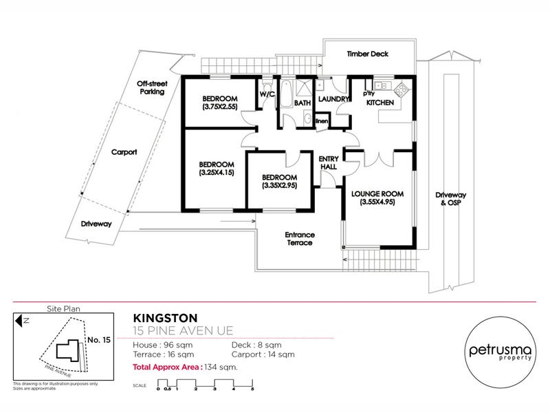 15 Pine Avenue, Kingston, Tas 7050 - floorplan