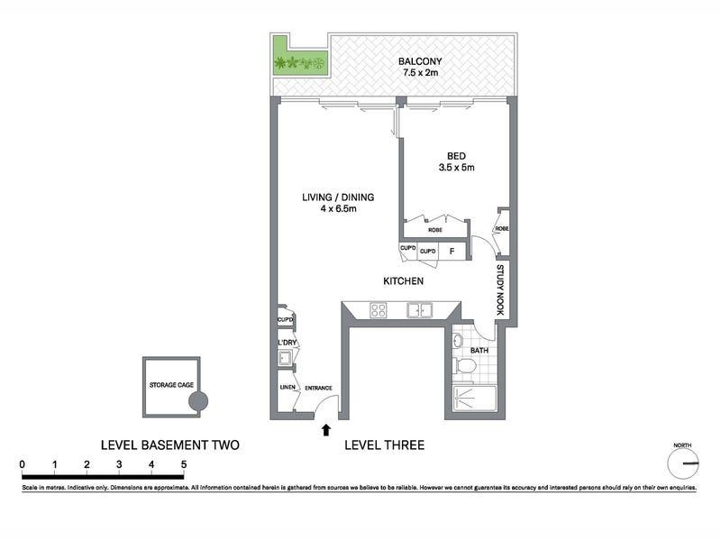 303/31 Barangaroo Avenue, Sydney, NSW 2000 - floorplan