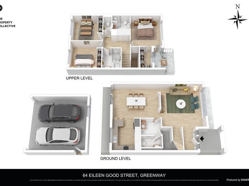 64 Eileen Good Street, Greenway, ACT 2900 - floorplan
