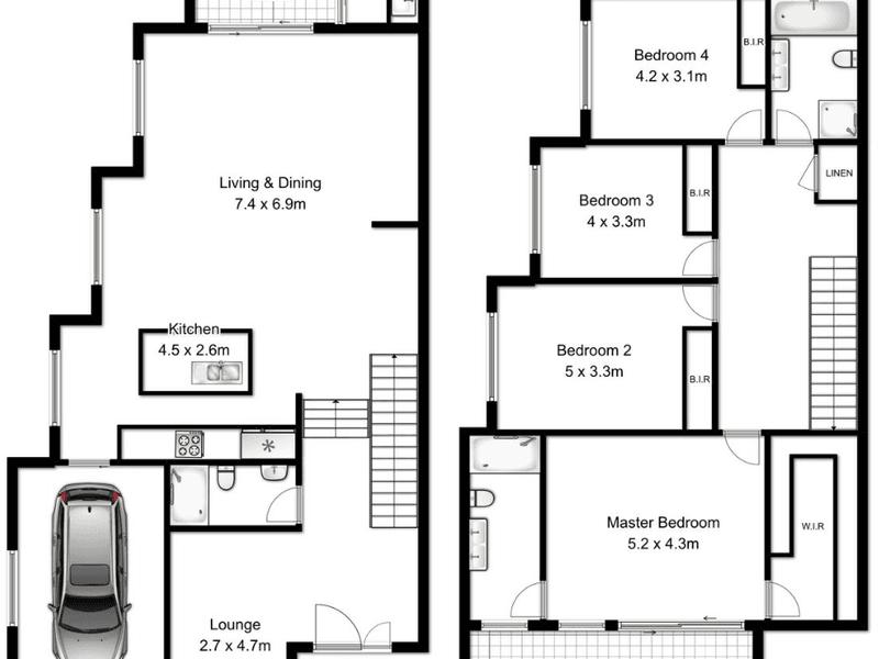 2 Isaac Street, Peakhurst Heights, NSW 2210 - floorplan