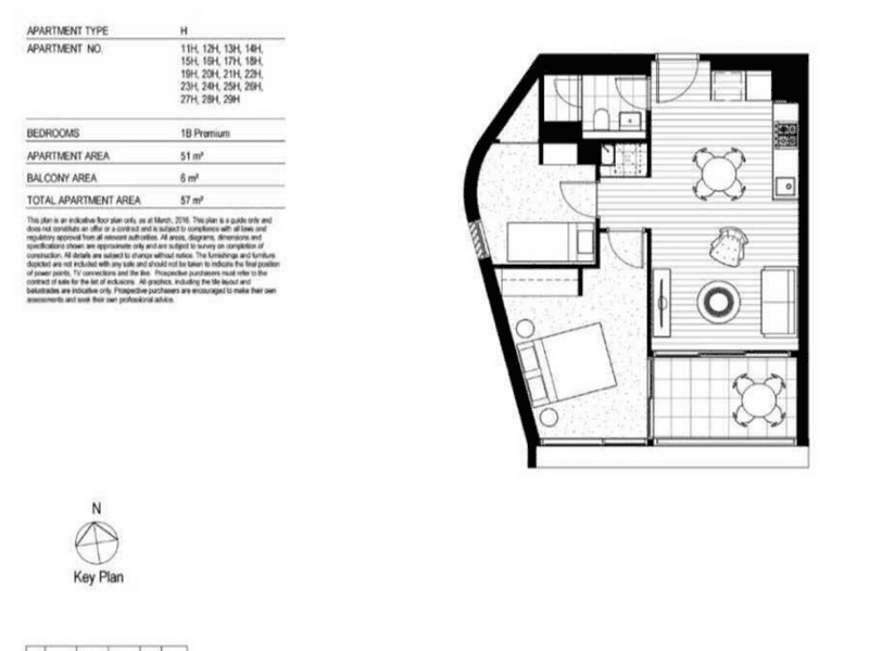 SE Darling Rise Darling Square, Sydney, NSW 2000 - floorplan