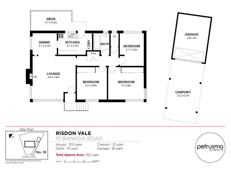 10 Banksia Road, Risdon Vale, Tas 7016 - floorplan