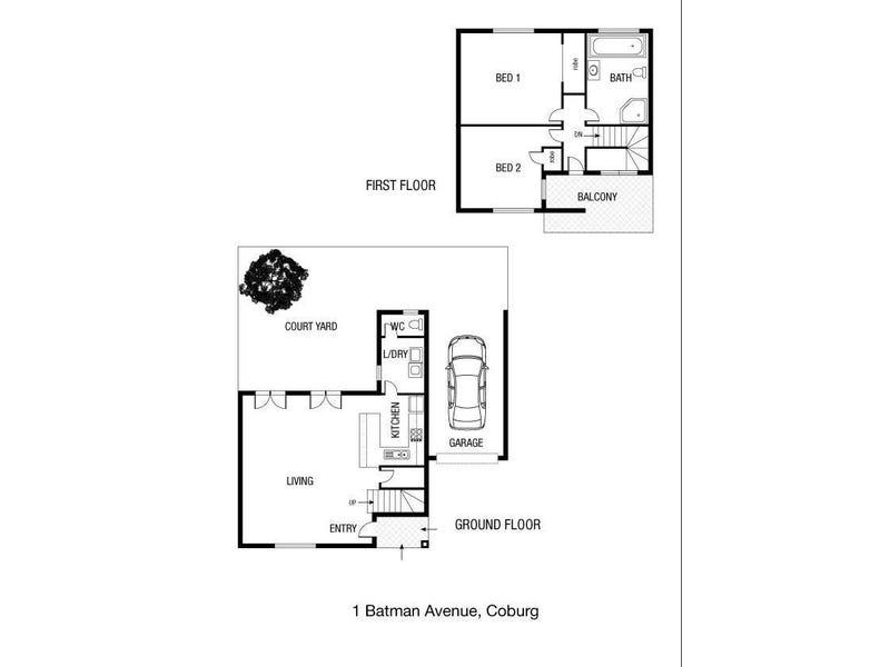 1 Batman Avenue, Coburg, Vic 3058 - floorplan