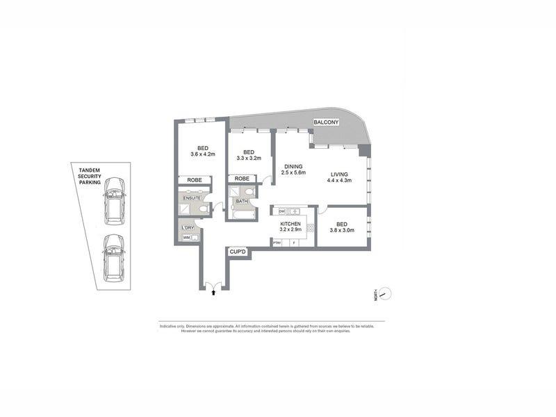 2308/168 Kent Street, Sydney, NSW 2000 - floorplan