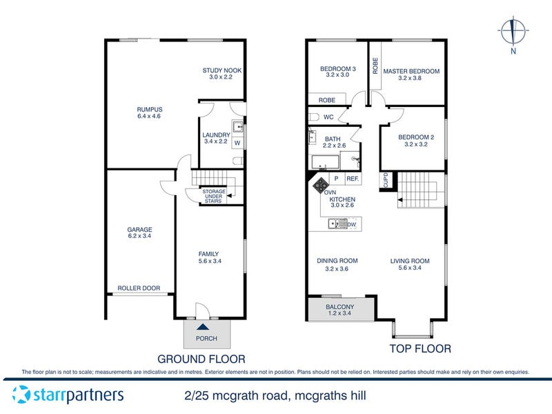 2/25 McGrath Road, McGraths Hill, NSW 2756 - floorplan
