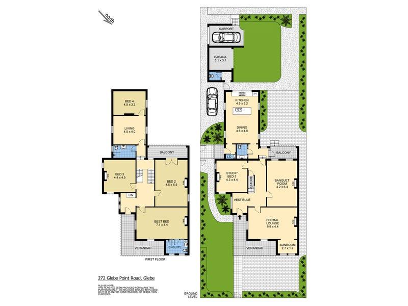272 Glebe Point Road, Glebe, NSW 2037 - floorplan