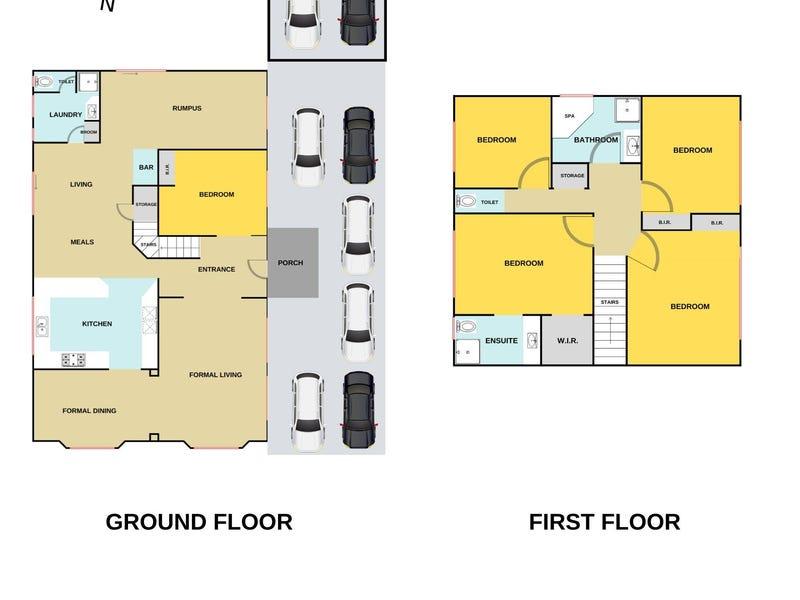 5 Samaher Court, Endeavour Hills, Vic 3802 - floorplan