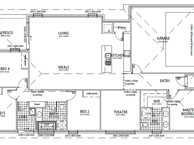 Lot 15 President Ave, Penfield, SA 5121 - floorplan