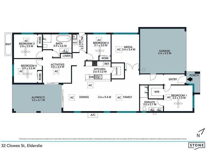 32 Clowes Street, Elderslie, NSW 2570 - floorplan