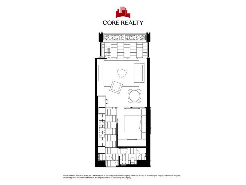 504/155 Franklin Street, Melbourne, Vic 3000 - floorplan