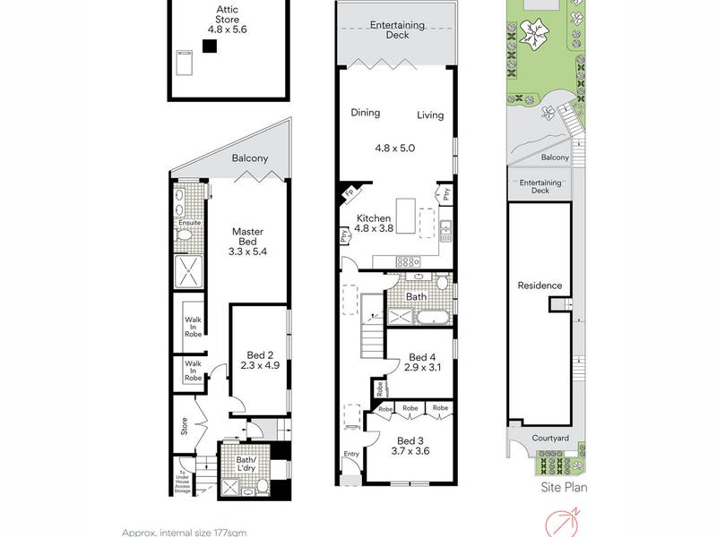 24 Somerset Street, Mosman, NSW 2088 - floorplan