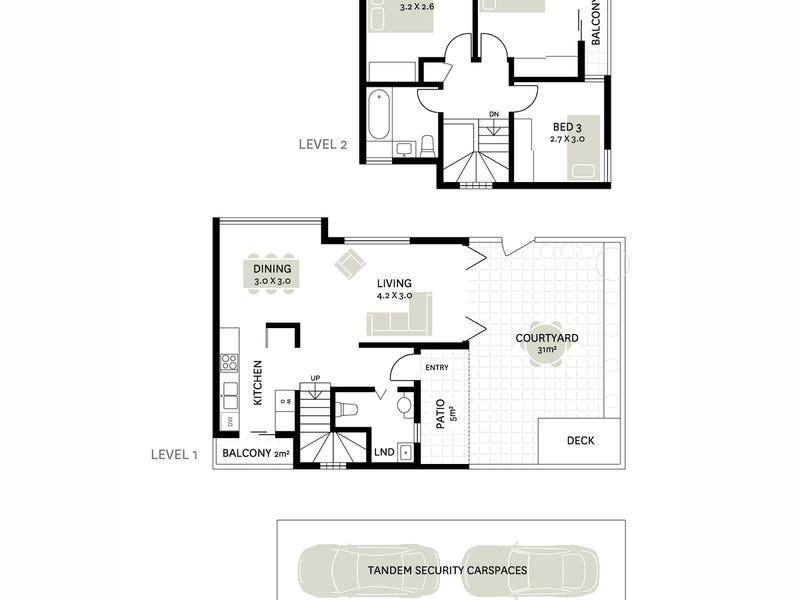 4/89 Mullens Street, Balmain, NSW 2041 - floorplan