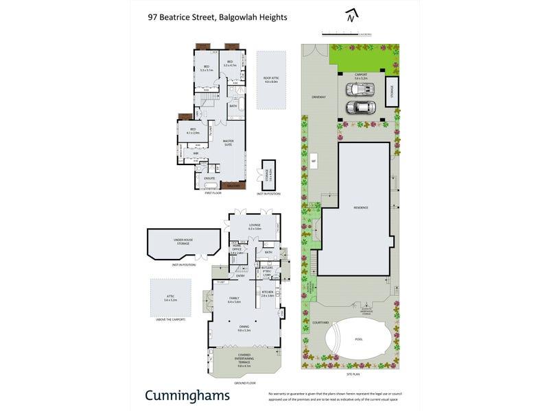 97 Beatrice Street, Balgowlah Heights, NSW 2093 - floorplan