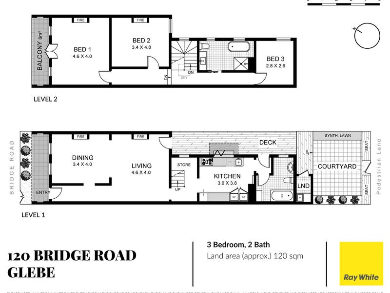 120 Bridge Road, Glebe, NSW 2037 - floorplan