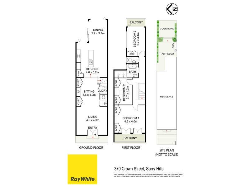 370 Crown Street, Surry Hills, NSW 2010 - floorplan