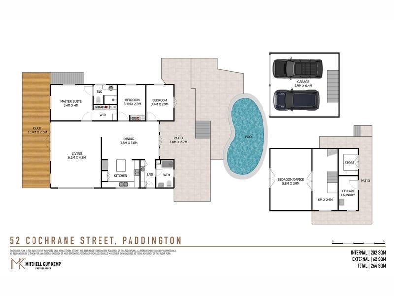 52 Cochrane Street, Paddington, Qld 4064 - floorplan