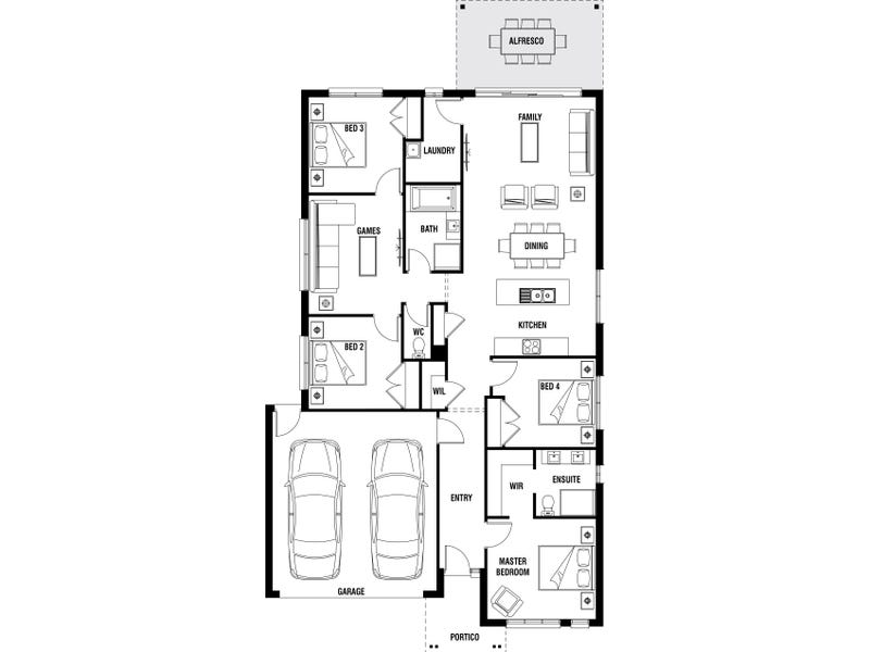 Lot 1614 Shulze Drive, Clyde North, Vic 3978 - floorplan