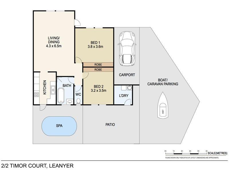 2/2 Timor Court, Leanyer, NT 0812 - floorplan