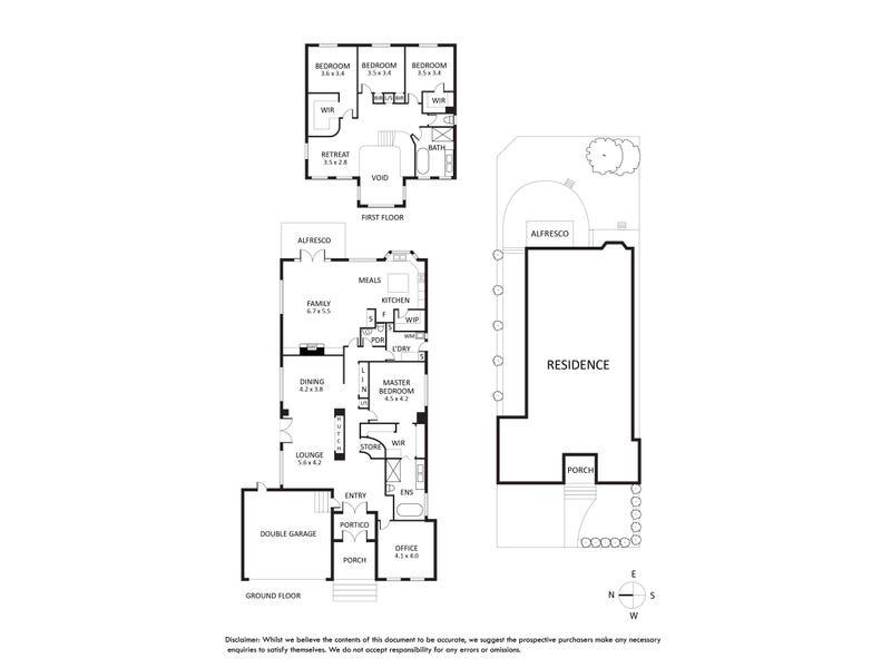 8 Loxton Street, Kew, Vic 3101 - floorplan