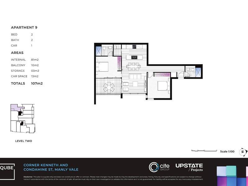 9/267-269 Condamine Street, Manly Vale, NSW 2093 - floorplan
