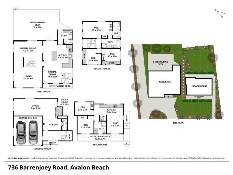 736 Barrenjoey Road, Avalon Beach, NSW 2107 - floorplan