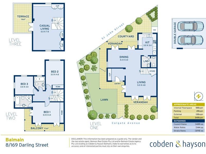 8/169 Darling Street, Balmain, NSW 2041 - floorplan