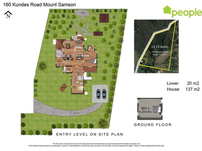 160 Kundes Road, Mount Samson, Qld 4520 - floorplan