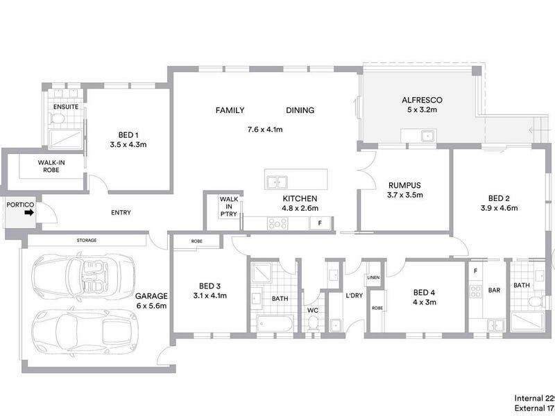 7 Pikler Rise, Moncrieff, ACT 2914 - floorplan