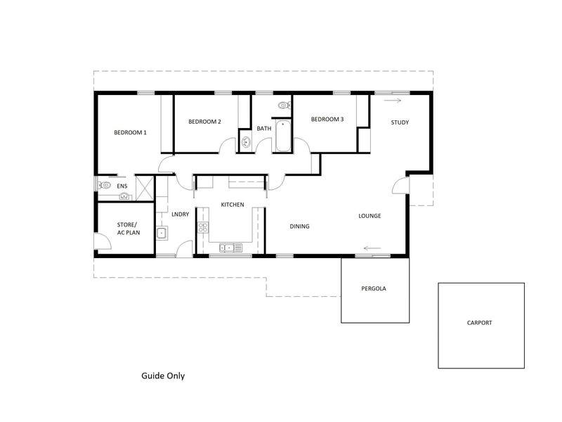 4 Auster Court, Araluen, NT 0870 - floorplan