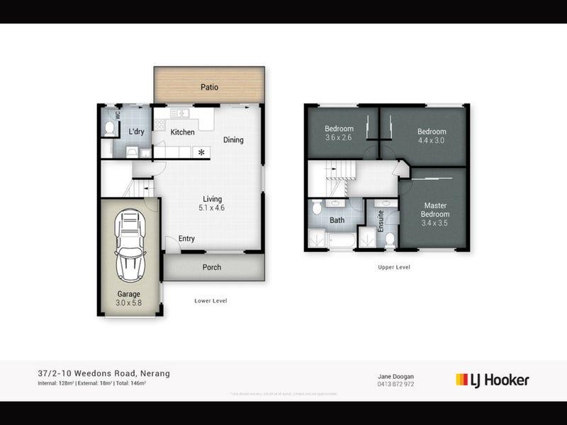 37/2 Weedons Road, Nerang, Qld 4211 - floorplan
