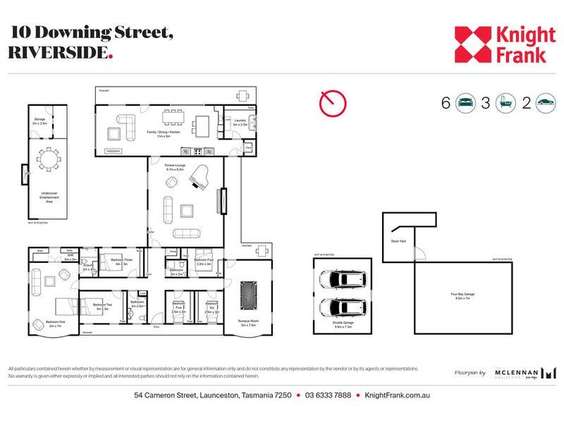 10 Downing Street, Riverside, Tas 7250 - floorplan