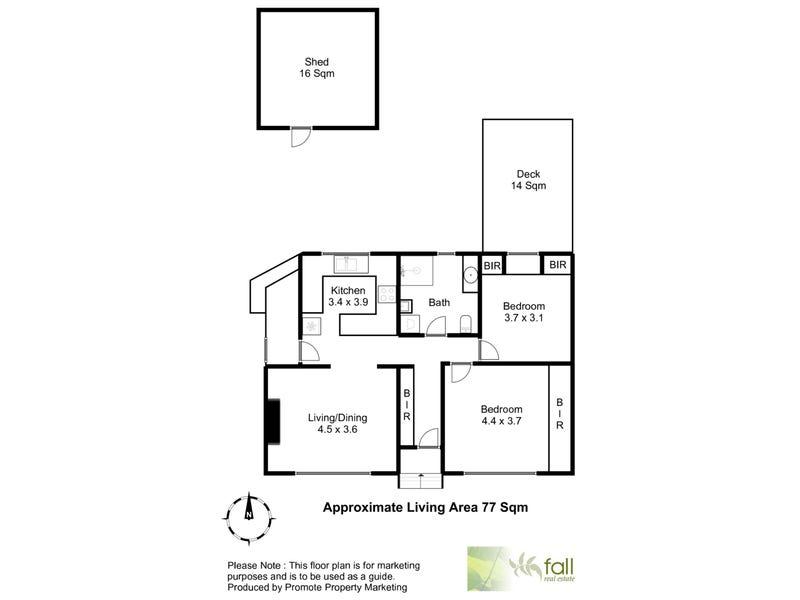 45 Bounty Street, Warrane, Tas 7018 - floorplan