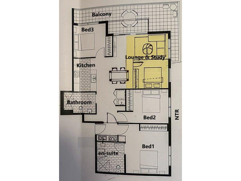 907/24 Dressler Court, Merrylands, NSW 2160 - floorplan
