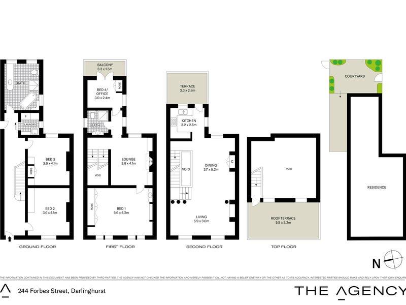 244 Forbes Street, Darlinghurst, NSW 2010 - floorplan