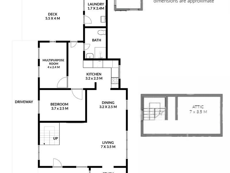 20 Mannion Street, Red Hill, Qld 4059 - floorplan