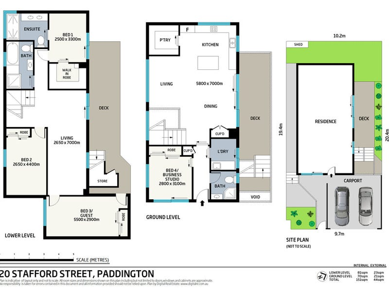20 Stafford Street, Paddington, Qld 4064 - floorplan