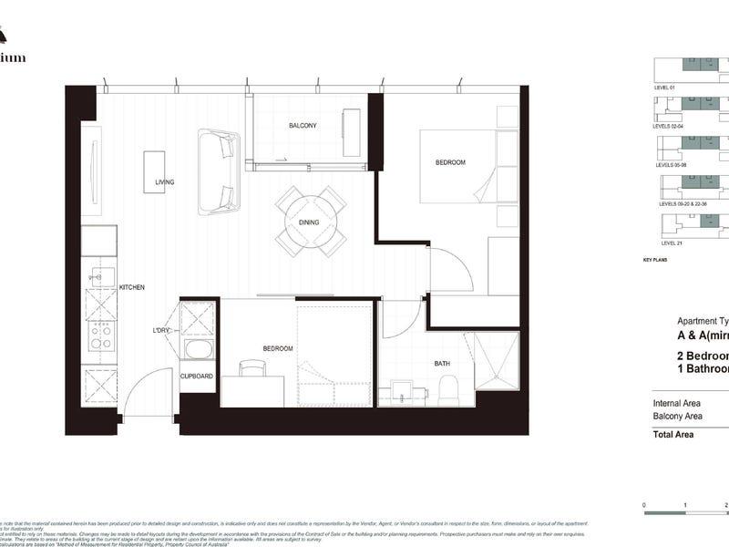 3104/36 La Trobe Street, Melbourne, Vic 3000 - floorplan