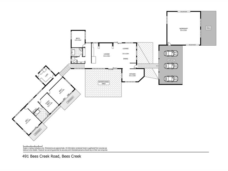 491 Bees Creek Road, Bees Creek, NT 0822 - floorplan