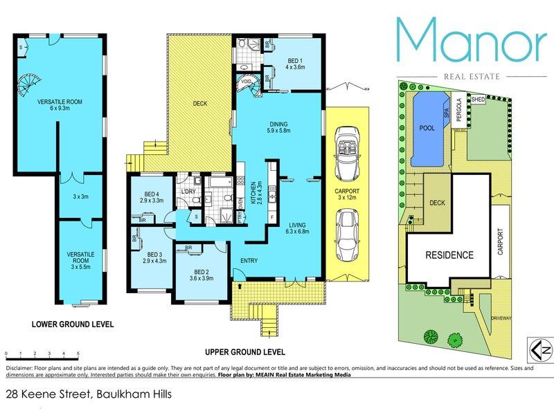 28 Keene Street, Baulkham Hills, NSW 2153 - floorplan